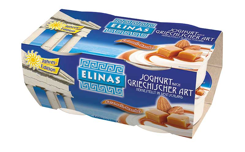 Elinas Jahres-Edition Karamell-Mandel / Hochwald Foods