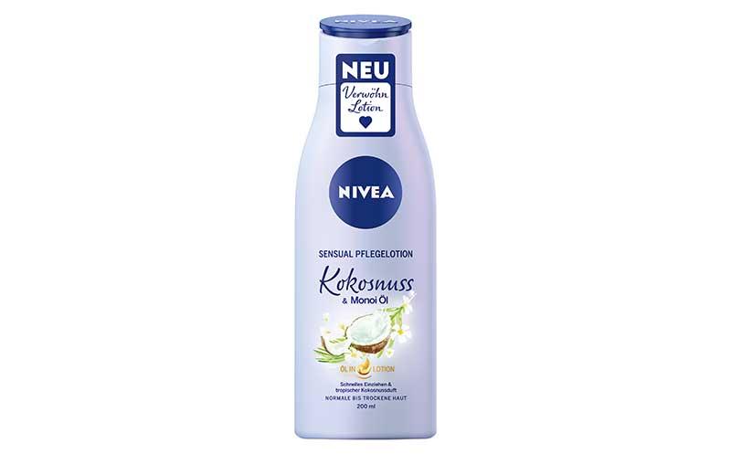 Nivea Sensual Pflegelotion Kokosnuss & Monoi-Öl / Beiersdorf