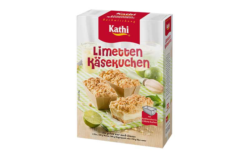 Kleingebäck Spezial Limetten Käsekuchen / Kathi Reiner Thiele