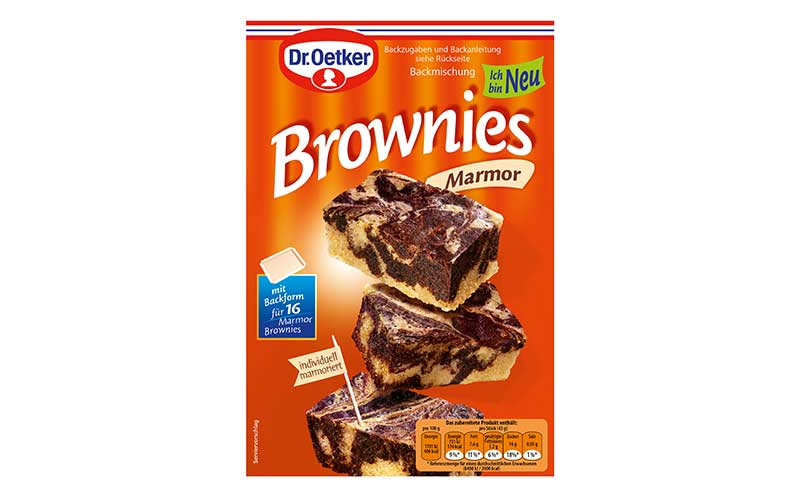 Dr. Oetker Backmischung Marmor Brownies / Dr. August Oetker Nahrungsmittel