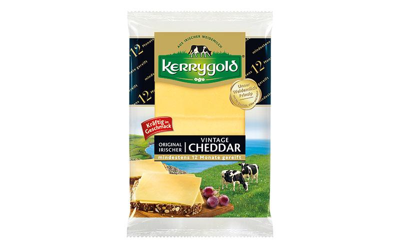 Kerrygold Original Irischer Vintage Cheddar Scheiben / Ornua Deutschland