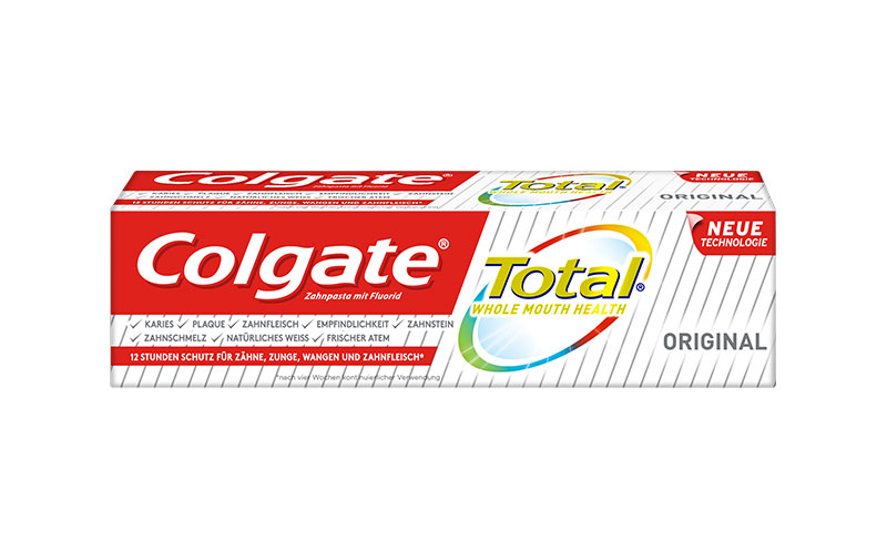 Colgate Total mit neuer Formal / CP GABA