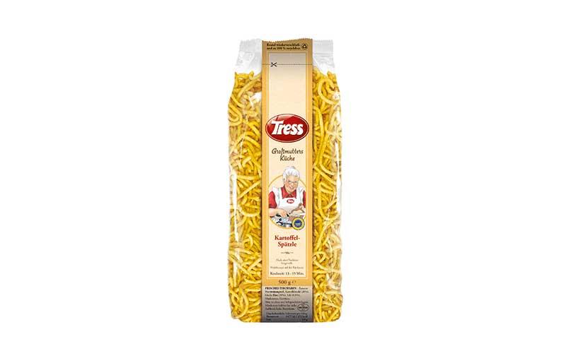 Tress Großmutters Küche Kartoffelspätzle / Franz Tress