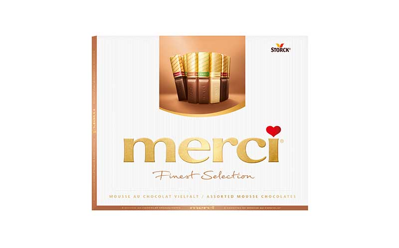 Merci Finest Selection Mousse au Chocolat / August Storck