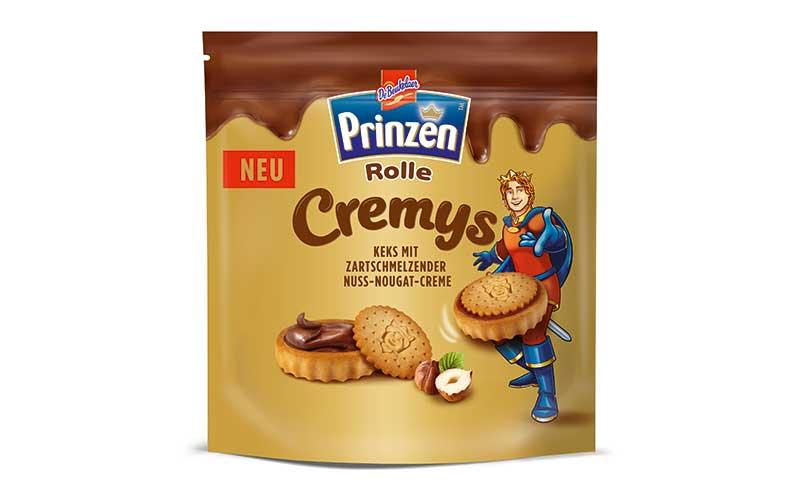Süßgebäck - Gold: Prinzen Rolle Cremys / Griesson-de Beukelaer