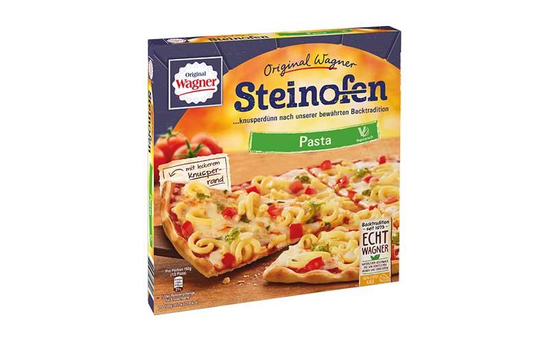 """Tiefkühlkost - Silber: Original Wagner Steinofen Pizza """"Pasta"""" / Nestlé Wagner"""