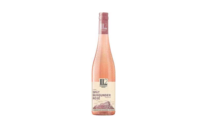 Wein, Sekt, Champagner - Bronze: 1112 Elfhundertzwölf Spätburgunder Rosé / Rotkäppchen-Mumm Sektkellereien