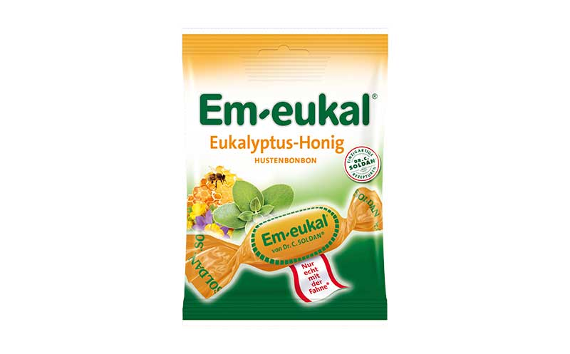 Em-eukal Eukalyptus-Honig / Soldan Holding und Bonbonspezialitäten