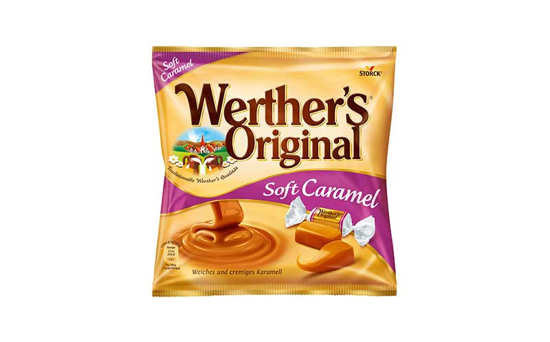 Zuckerwaren - Gold: Werther's Original Kaubonbons / August Storck