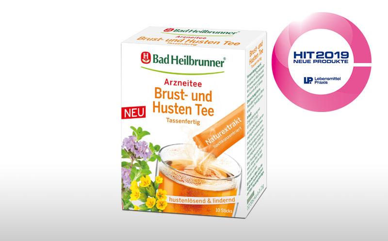 Bad Heilbrunner® Brust- und Husten Tee Tassenfertig