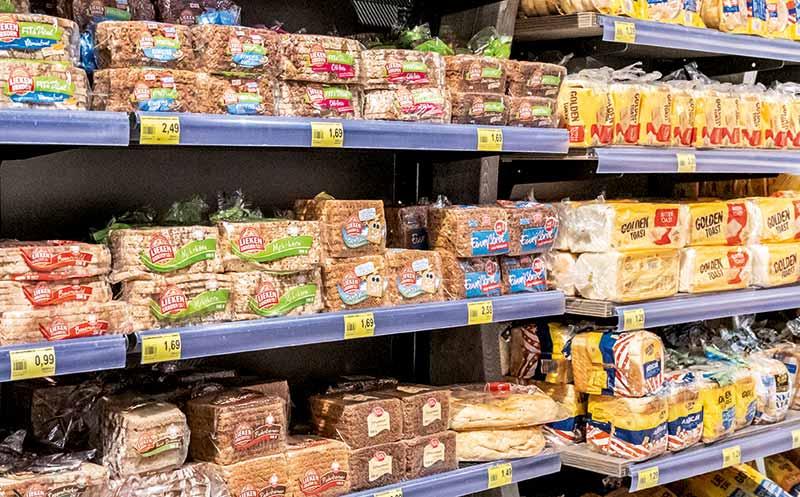 Bei Lebensmitteln wird nicht gespart