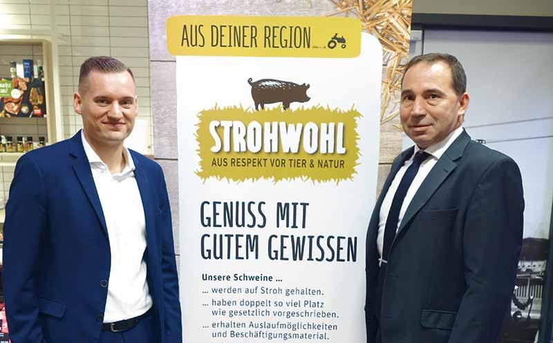 """Rewe West: Projekt """"Strohwohl"""" wichtiger Beitrag"""