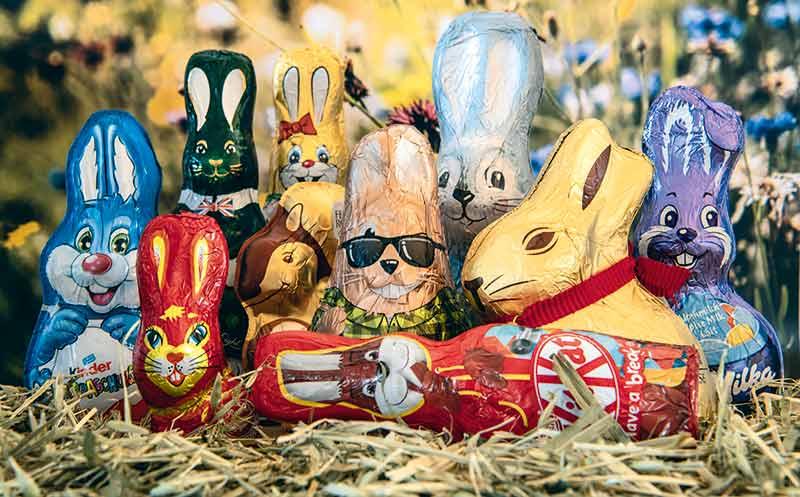 Süßwaren: Zu Ostern in erster Linie bunt