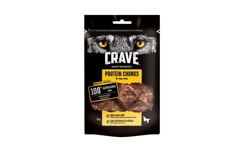 Crave Protein Chunks/Mars