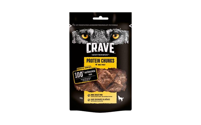 Tiernahrung und -bedarf - Gold: Crave Protein Chunks/Mars
