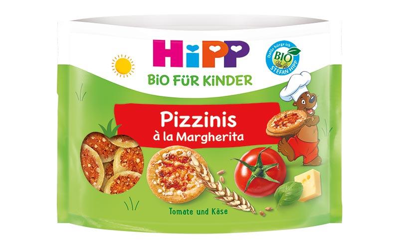 Hipp Pizzinis à la Margherita/Hipp