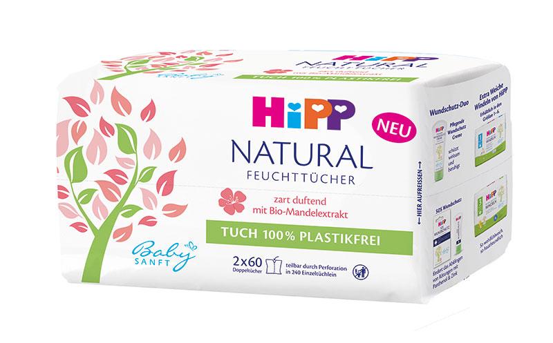 Baby- und Kinderprodukte - Gold: Hipp Natural Feuchttücher/Hipp