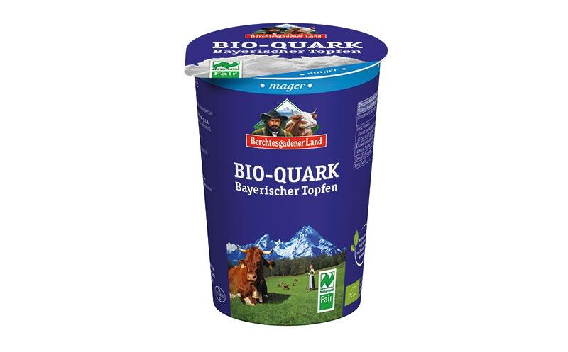 Berchtesgadener Land Bio-Quark Bayerischer Topfen/Milchwerke Berchtesgadener Land Chiemgau