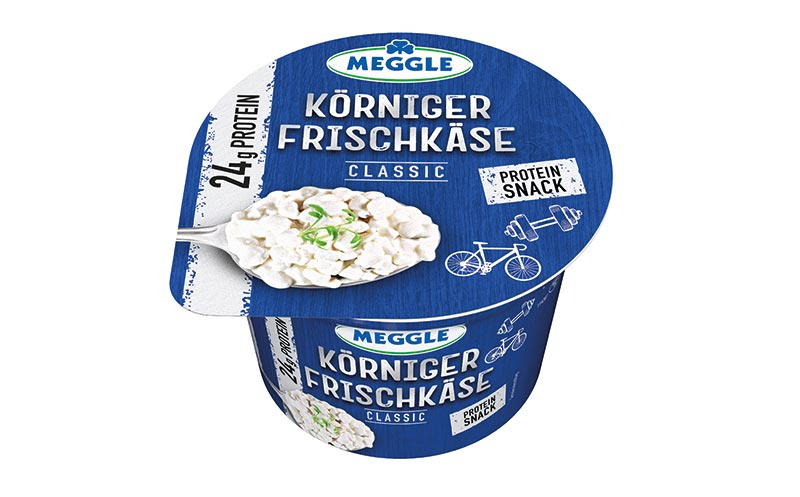 Meggle körniger Frischkäse/Meggle