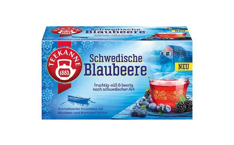 Schwedische Blaubeere/Teekanne