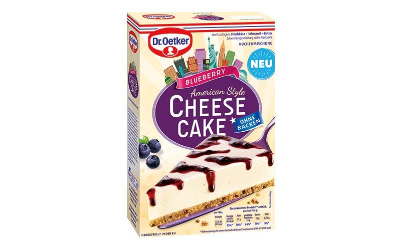 Kuchen und Backmischungen - Gold: Dr. Oekter Cheesecake American Style/Dr. August Oetker Nahrungsmittel
