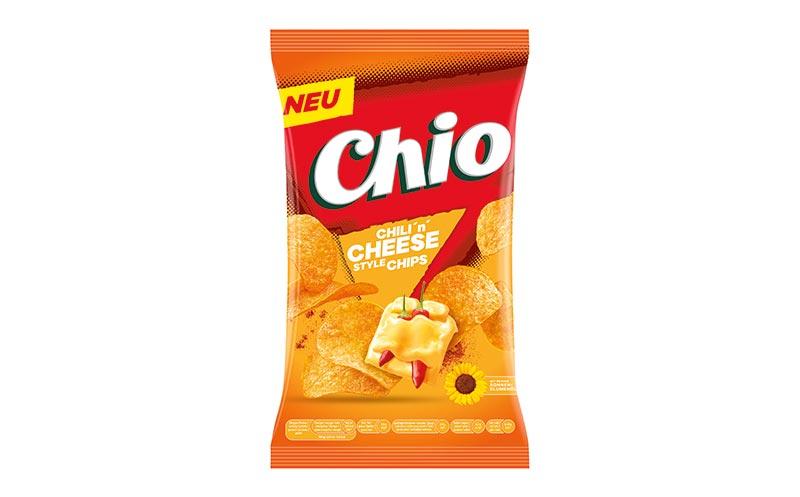 Chio Chips Chili'n'Cheese/Intersnack-Knabber-Gebäck