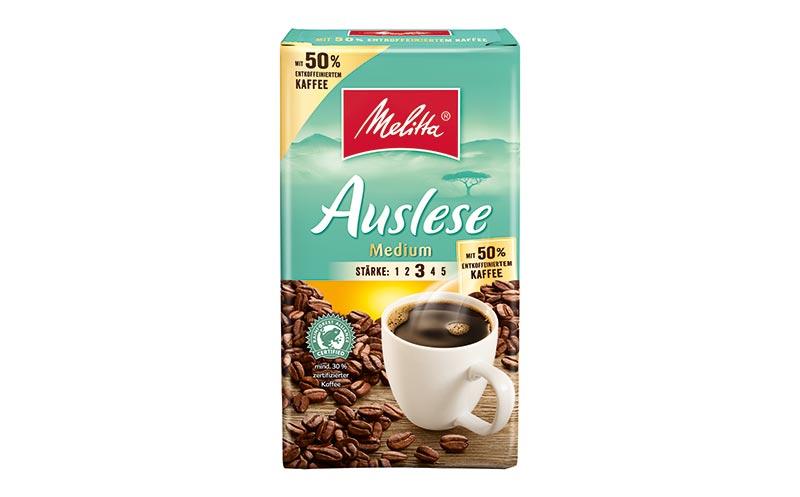 Kaffee, Tee, Kakao - Silber: Melitta Auslese Medium/Melitta Europa