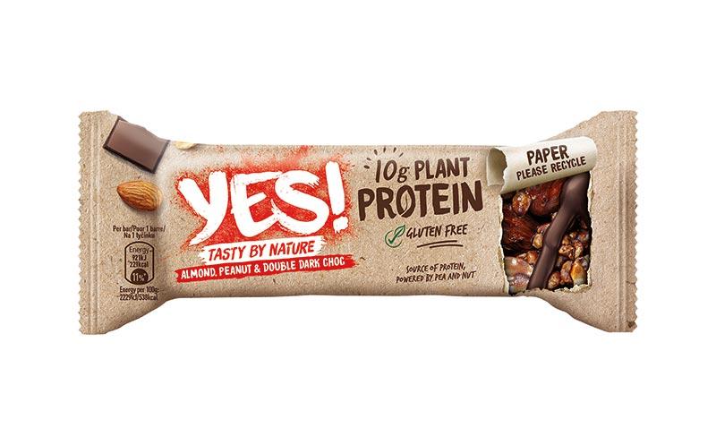 Riegel/Snacks - Silber: Yes! Proteinriegel/Nestlé Deutschland