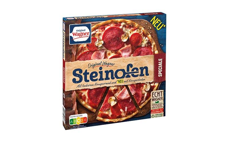 Tiefkühlkost - Gold: Original Wagner Steinofen Pizza/Nestlé-Wagner
