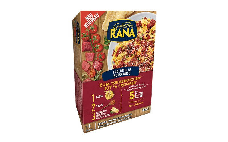 Pasta-Sets zum Selbstkochen/Giovanni Rana