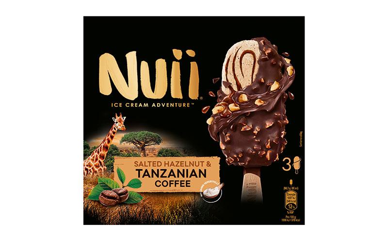 Eiscreme - Bronze: Nuii Salted Hazelnut & Tanzanian Coffee/Froneri Schöller