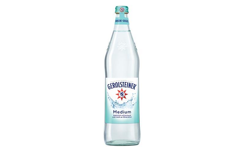 Gerolsteiner Glasindividualflasche 0,75 Liter/Gerolsteiner Brunnen
