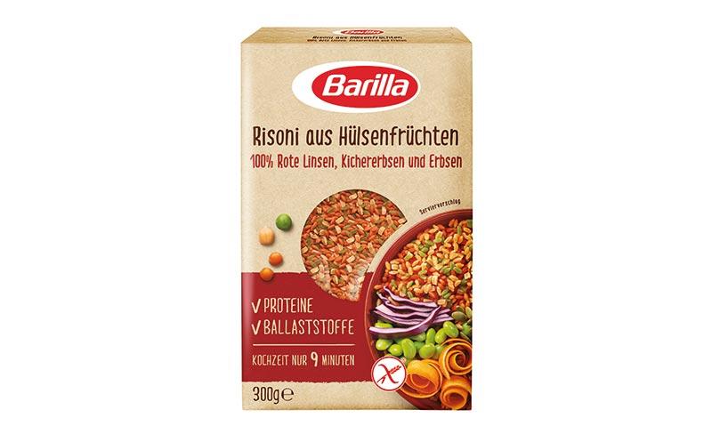 Barilla Risoni aus Hülsenfrüchten/Barilla Deutschland