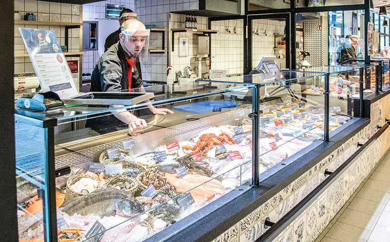 Fischtheke des Jahres 2020: Rewe Homberg Budnik Dortmund