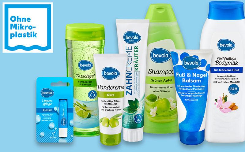 Kennzeichnet Produkte ohne Mikroplastik