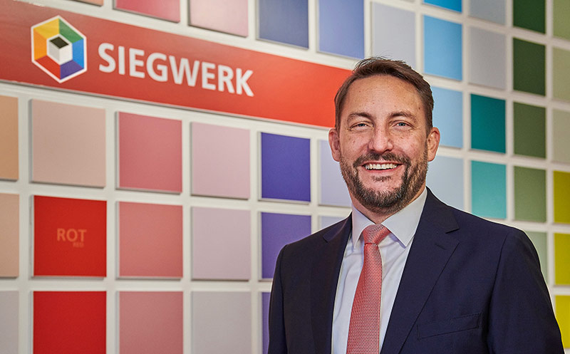 Siegwerk: Dr. Nicolas Wiedmann neuer CEO