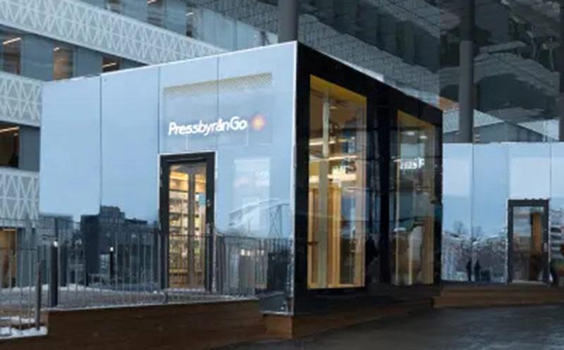 Erstes unbemanntes Pressbyrån Go eröffnet