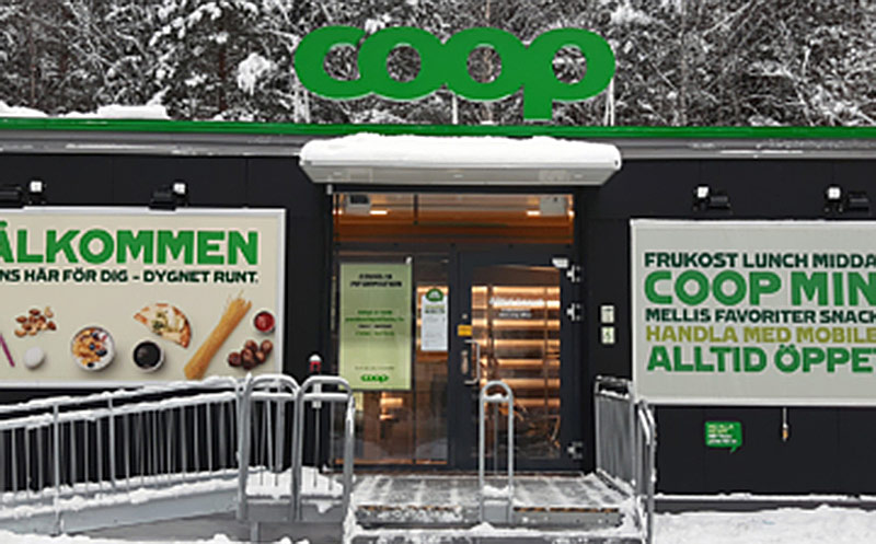 Schweden: Auch Coop eröffnet unbemannten Store