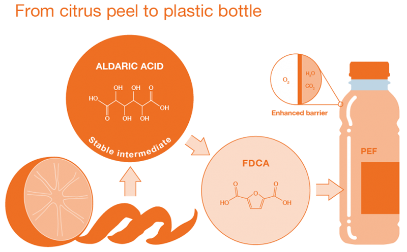Finnland: VTT stellt biobasierten Kunststoff als PET-Ersatz vor