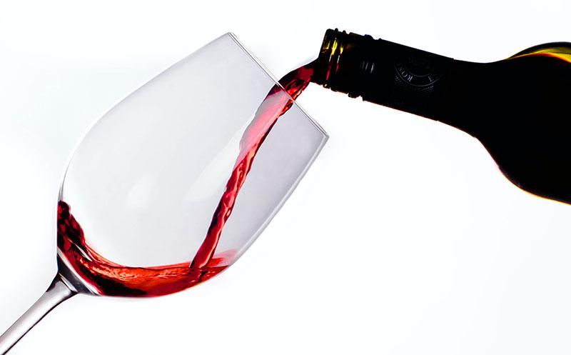 Lieber Wein statt Sekt