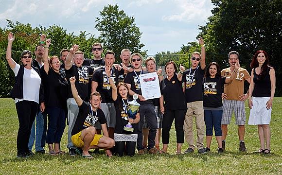 Neuwieder Sommercamp 2014:Handels-Nachwuchs ausgezeichnet