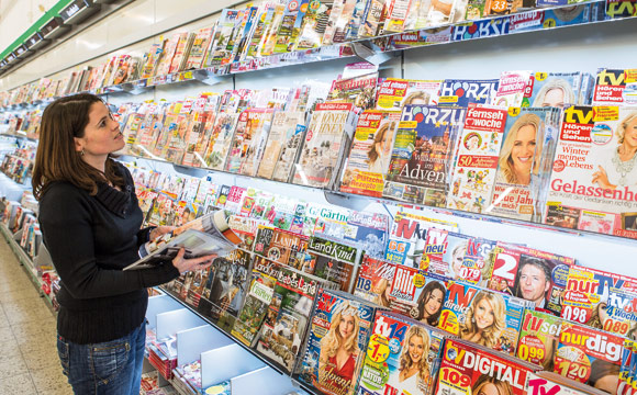 Zeitschriften: Presseregal bleibt Garant für Impulskäufe