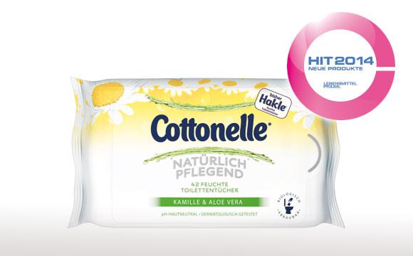 Ausgezeichnet – Cottonelle® für unterwegs überzeugt Handel und Konsumenten
