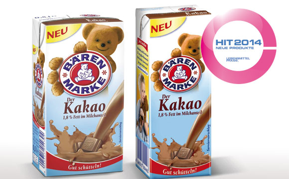 Ausgezeichnete Qualität mit dem Bärenmarke H-Kakao