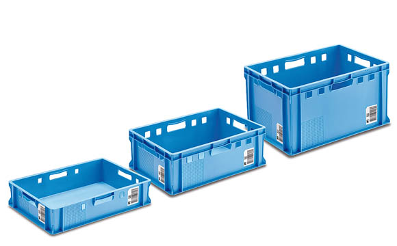 Blaue Kiste