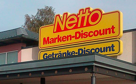 Netto Marken-Discount:Per Fingerabdruck bezahlen