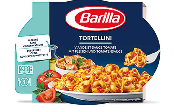 Barilla Fertige Pastagerichte Tortellini / Barilla Deutschland