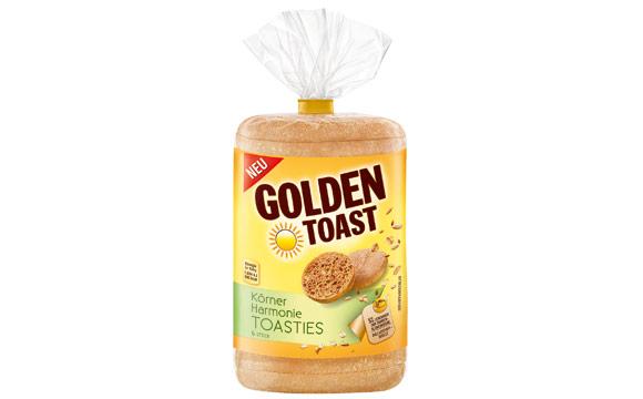 Golden Toast Körnerharmonie Toasties / Lieken Brot- und Backwaren