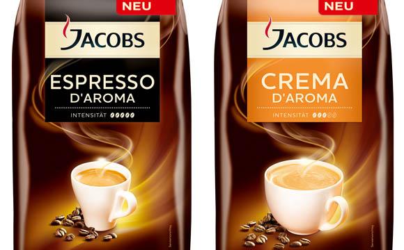kaffee / Tee / Kakao - Slber: Jacobs D'Aroma / Mondelez Deutschland Services