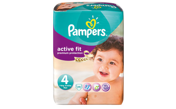Pampers Active Fit Premium Protection / Procter & Gamble